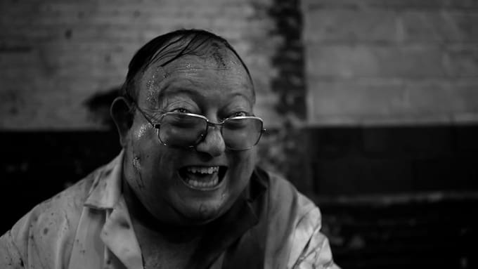Human Centipede 2: Laurence R. Harvey as Martin Lomax