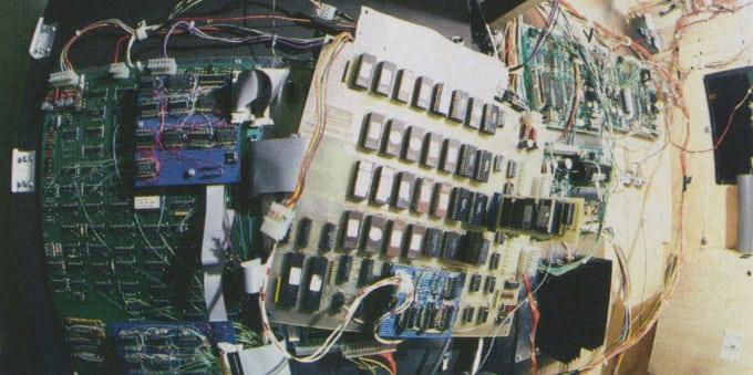 arcade game internals