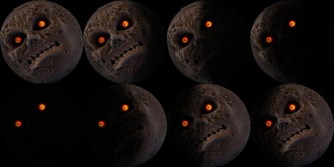 Majora's Mask and that Moon - Legend of Zelda: Majora's Mask