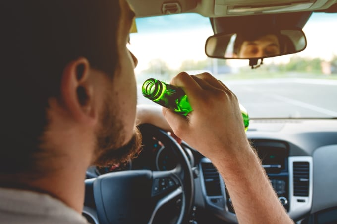 Stoned driving is as bad as drunk driving.