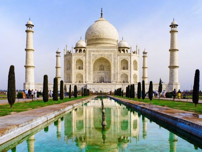 The Taj Mahal - Agra, India