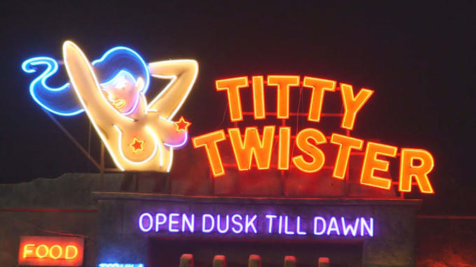 The Titty Twister - From Dusk Till Dawn
