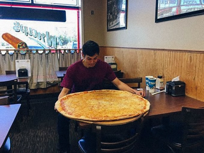 "Johnny G's Pizzeria (Toms River): 32"" Pizza Challenge"