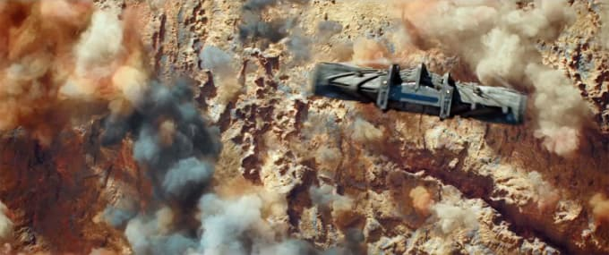 The Ship - Astroship XB982 (The Intruder)