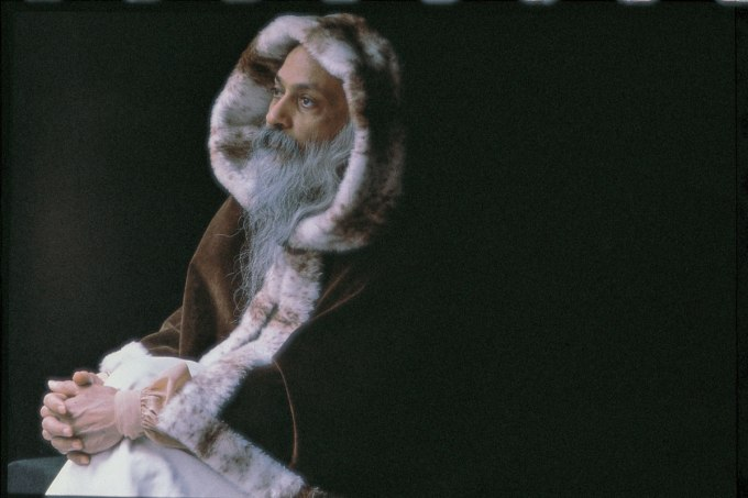 osho praying