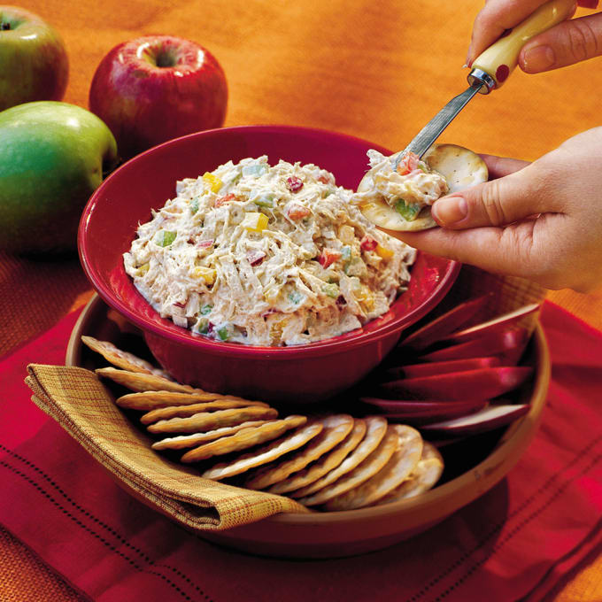 Chicken Cranberry Party Salad