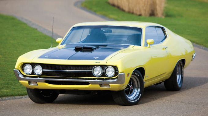 Many Classic 70s Muscle Cars Were Built By Ford But Few Could Stand Up To The Mustang Line Like Torino Cobra
