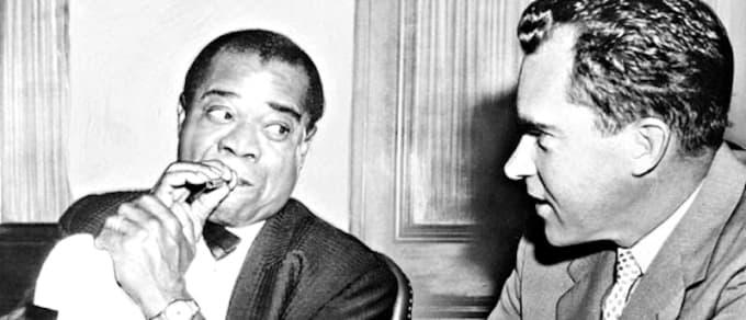 Nixon and Armstrong