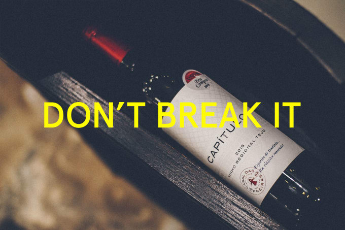 Traveling with vino? Here's how you can prevent a bottle from breaking.
