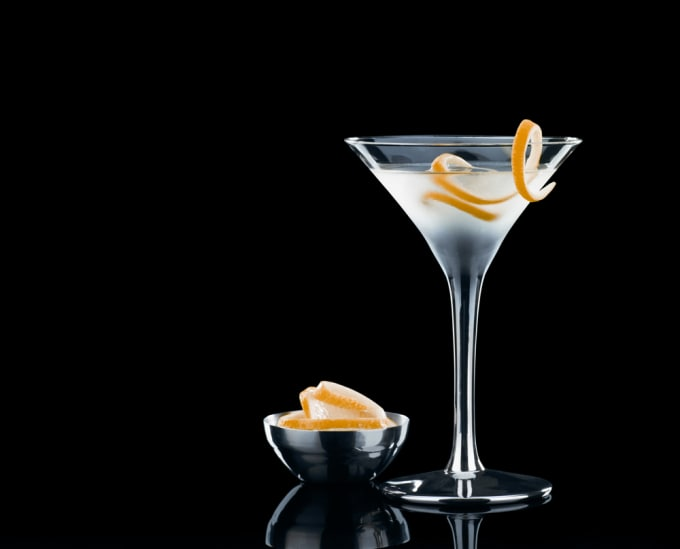 Vesper Martini (or the James Bond Martini)