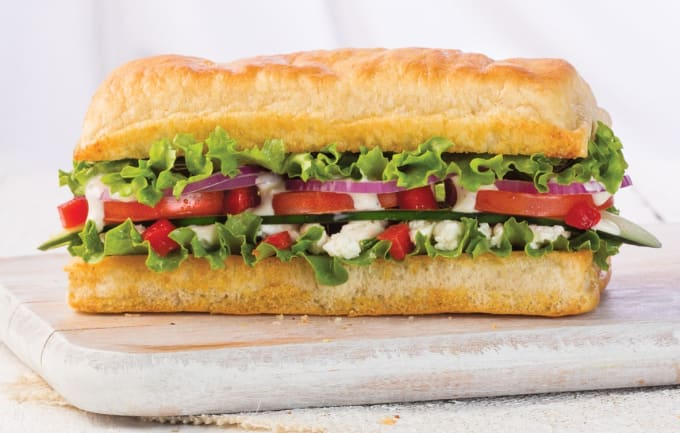 Add a Western spin by adding a sandwich as your main dish!