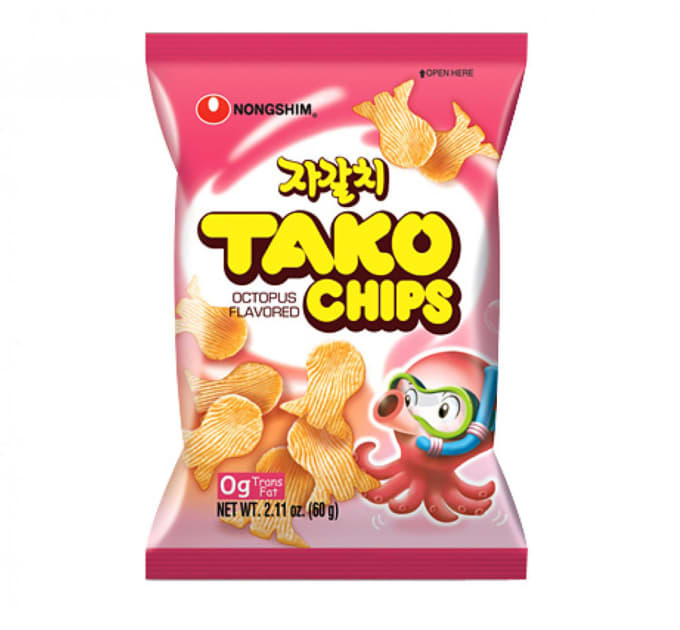 Octopus Flavored Chips