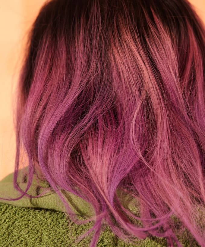 """""""Pick up a box of drugstore hair color (the kind that eventually washes out) and go to town on each other. You'll get that sexy hands-on-the-scalp feeling along with the risky excitement of not knowing quite how it's going to turn out."""""""