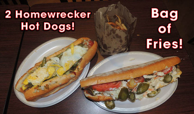 Cool Dog Cafe (Cherry Hill): Hot Dog Challenge