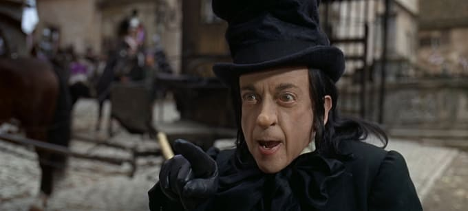 Chitty Chitty Bang Bang: Robert Helpmann as the Child Catcher
