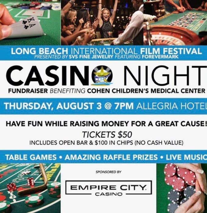 Casino Night - August 3rd