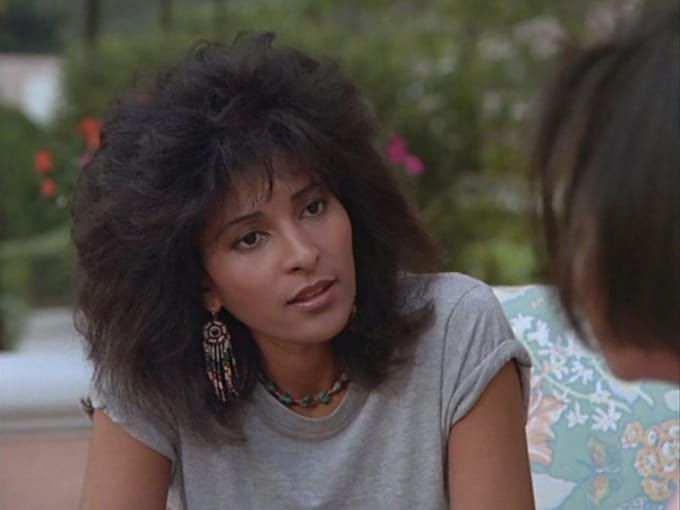 Pam Grier's Valerie Gordon on Miami Vice