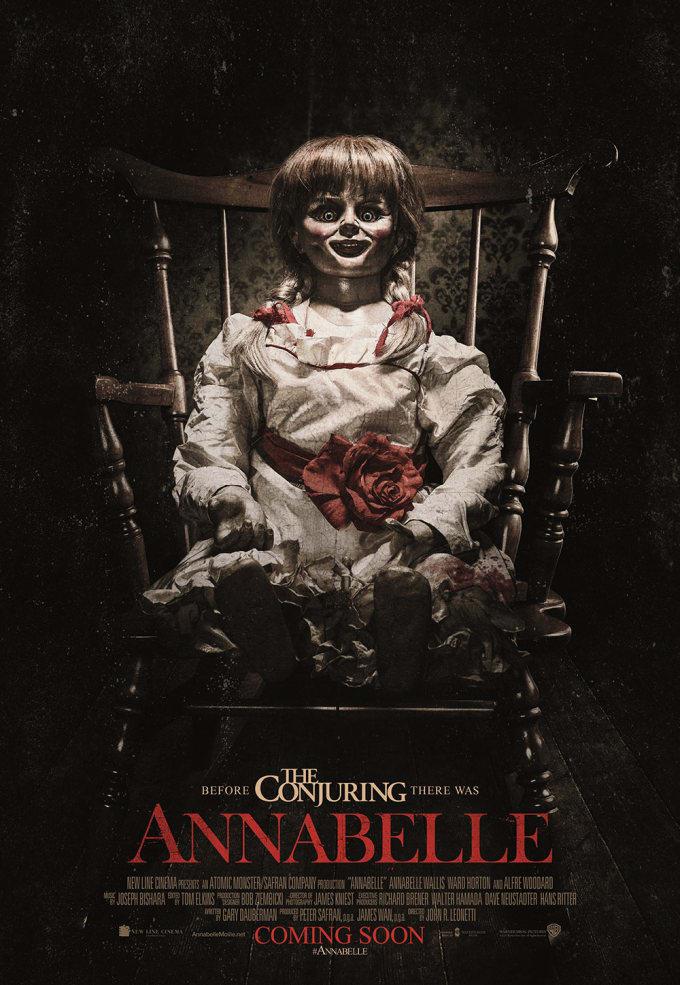 annabelle movie poster