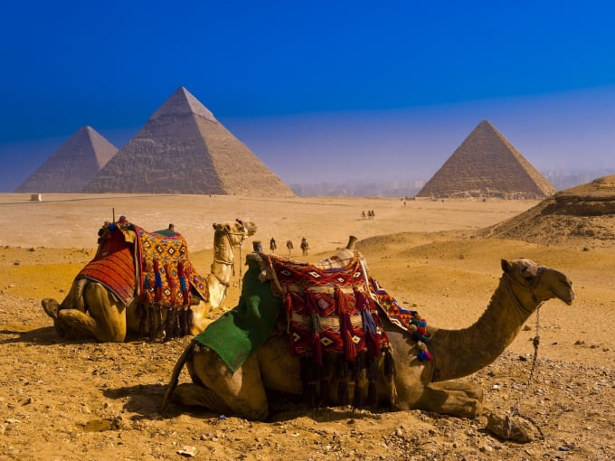 The Great Pyramids - Giza, Egypt