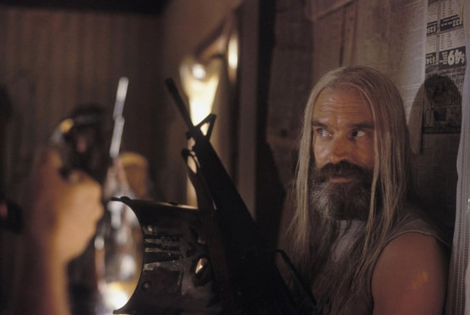 Devil's Rejects: Bill Moseley as Otis B. Driftwood