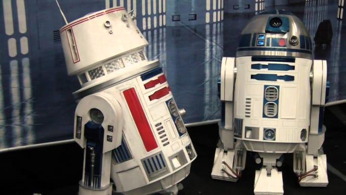 R5-D4, the Force Sensitive Droid