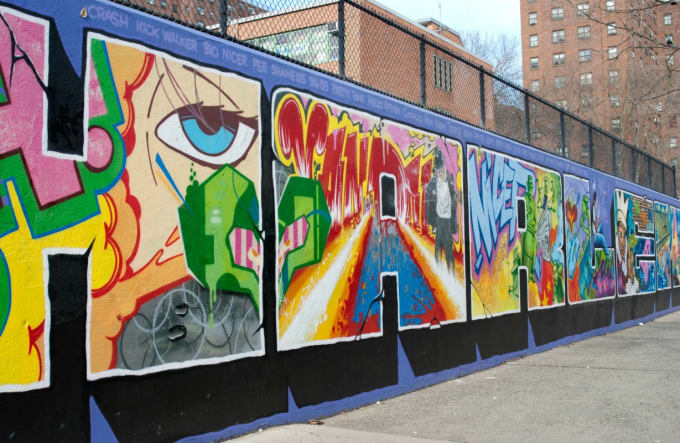 The Graffiti Hall of Fame, New York City