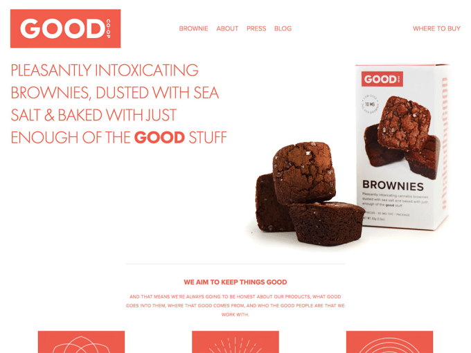 Good Co-Op: A premium edible brand for the cannabis loving population of California
