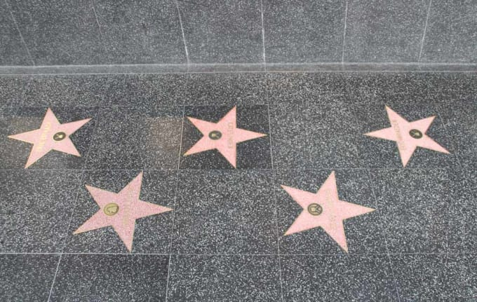 The Hollywood Walk Of Fame - Hollywood, CA