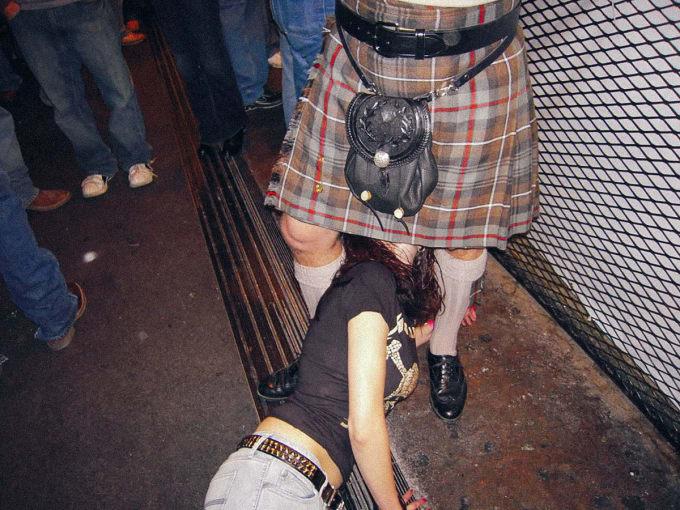 Scotland - Underwear Under Your Kilt? Two Beers