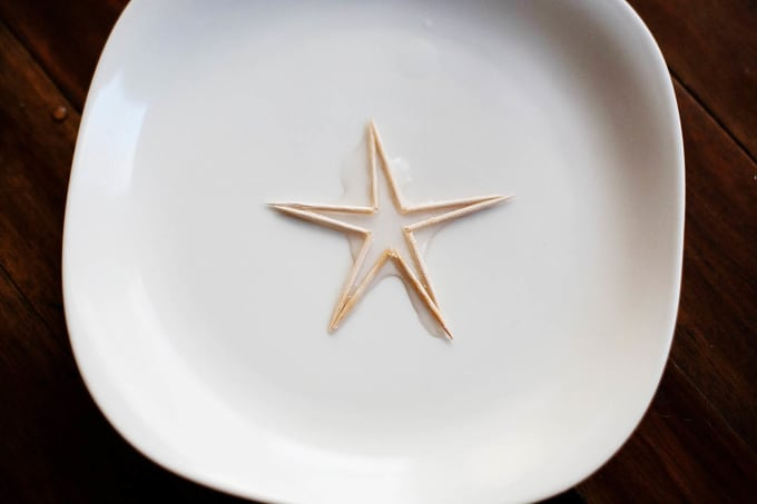 The Imploding Toothpick Star