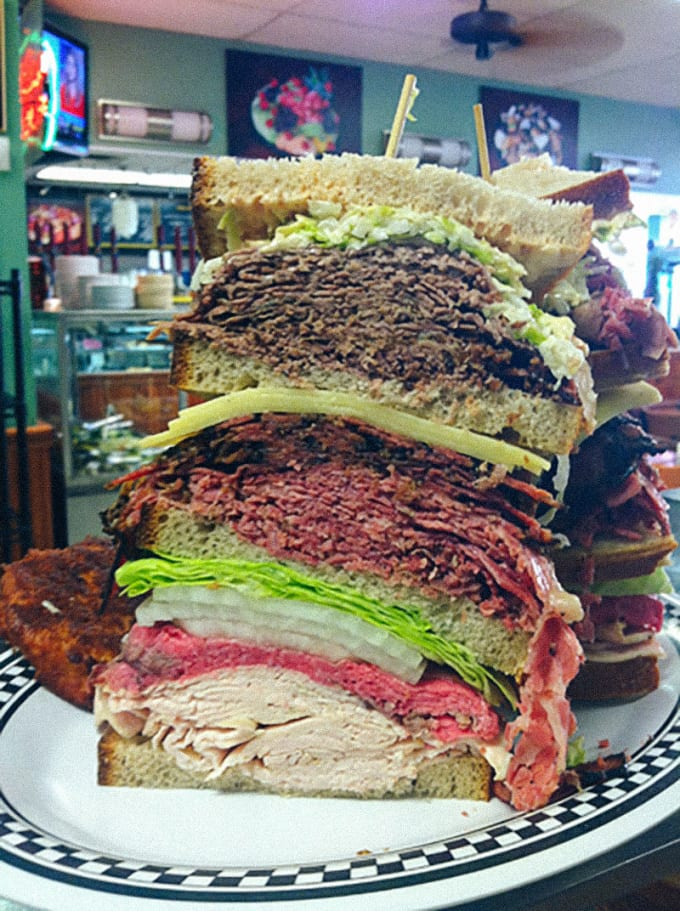 The Kibitz Room (Cherry Hill): Great Big Mother-F***ing Sandwich