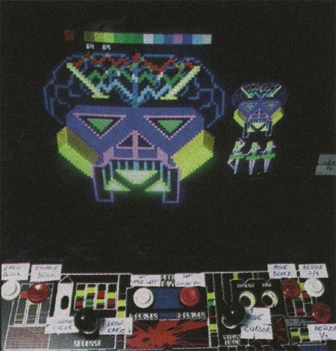 pixel painting arcade game