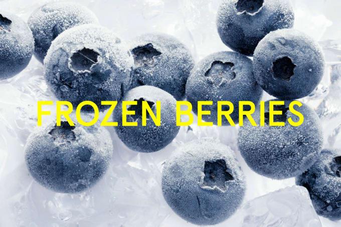 Keep your wine cool using frozen berries.