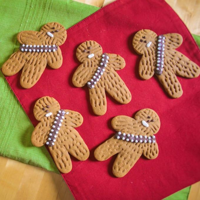 Gingerbread Wookiee Cookies
