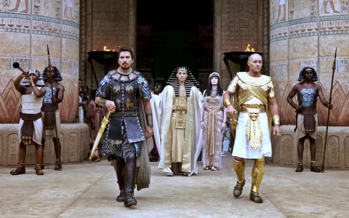 Exodus: Gods and Kings.