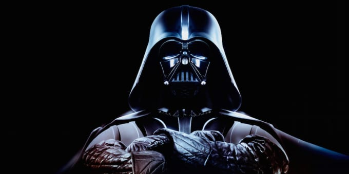 Why did Vader move over to the dark side of the force?
