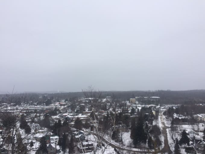 View of Huntsville from The Lions lookout