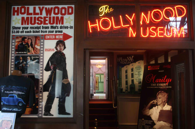 Hollywood Museum: Best of Science Fiction Exhibit