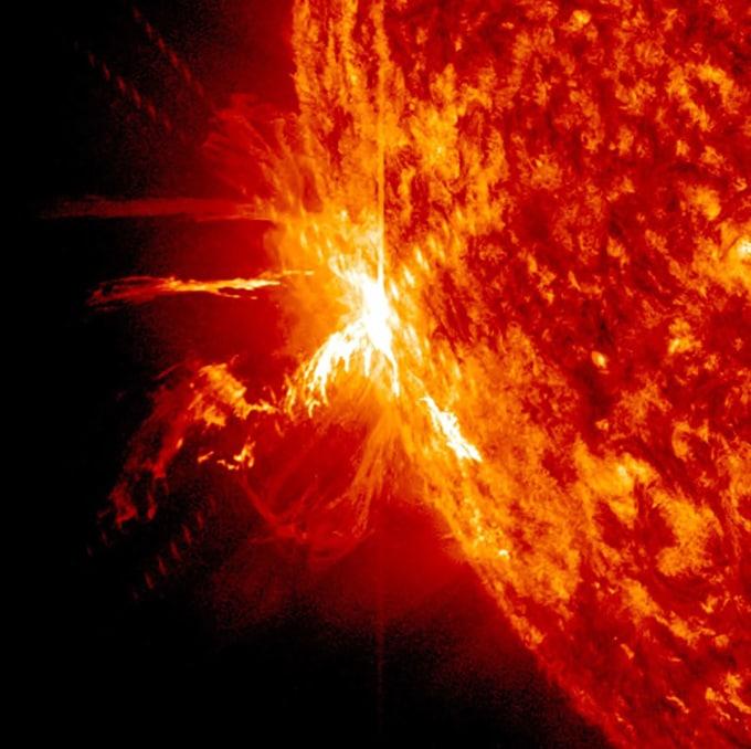 Close up on Sun