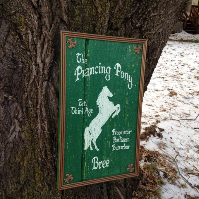 The Green Dragon Inn/The Prancing Pony - Lord of the Rings