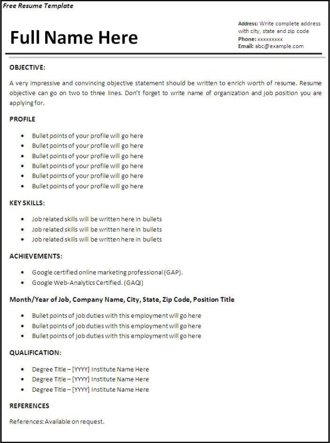 Physician Resume Template Pdf Resume Writing Sucks Literally  Journal 2014 Resume Template Excel with How To Write A Resume That Stands Out Pdf Above Is A Very Basic Very Bland Resume That Will Give You No Recognition  So Dont Follow This Template What This Resume Does Is Illustrate The Most   Resume Statement Word