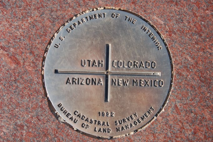 Four Corners Monument - Southwestern US