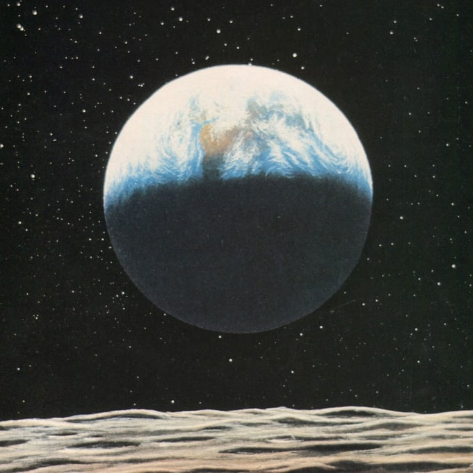 Painting by Don Dixon