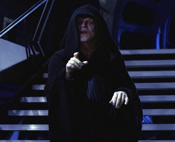 Who is Darth Vader's Master?
