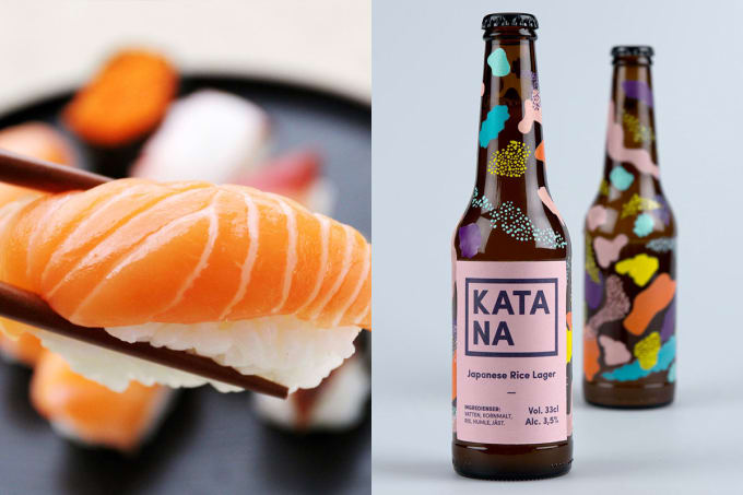 Sushi + Rice Beer