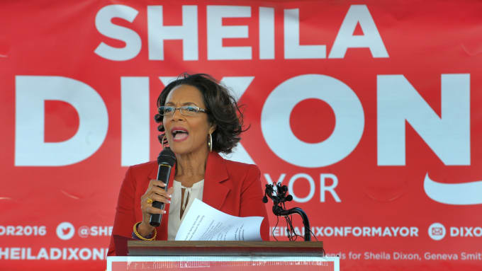 Sheila Dixon's Theft Spree