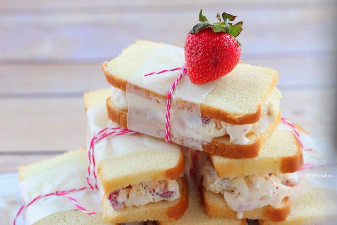 Berry and Ice Cream Shortcake