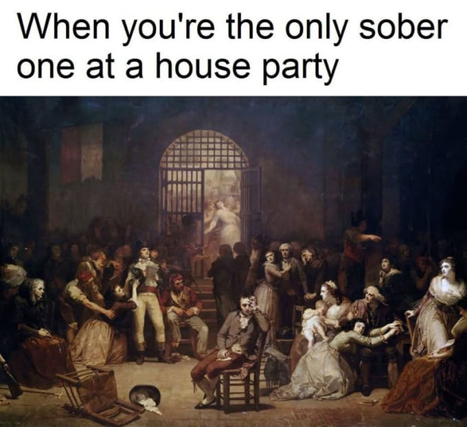 Don't be the Only One Not Drinking