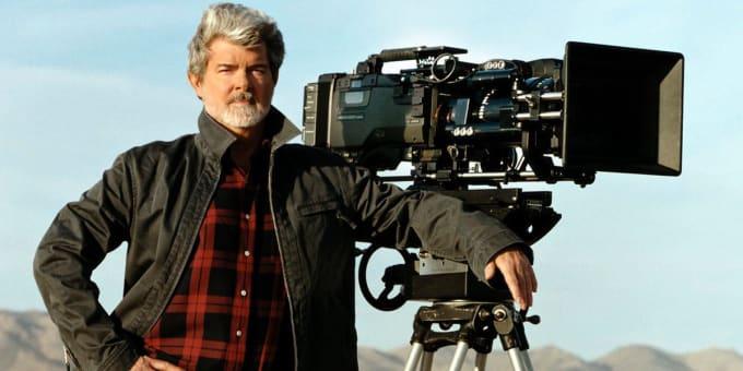 George Lucas, creator of Star Wars.