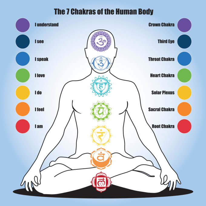 The Seven Major Chakras